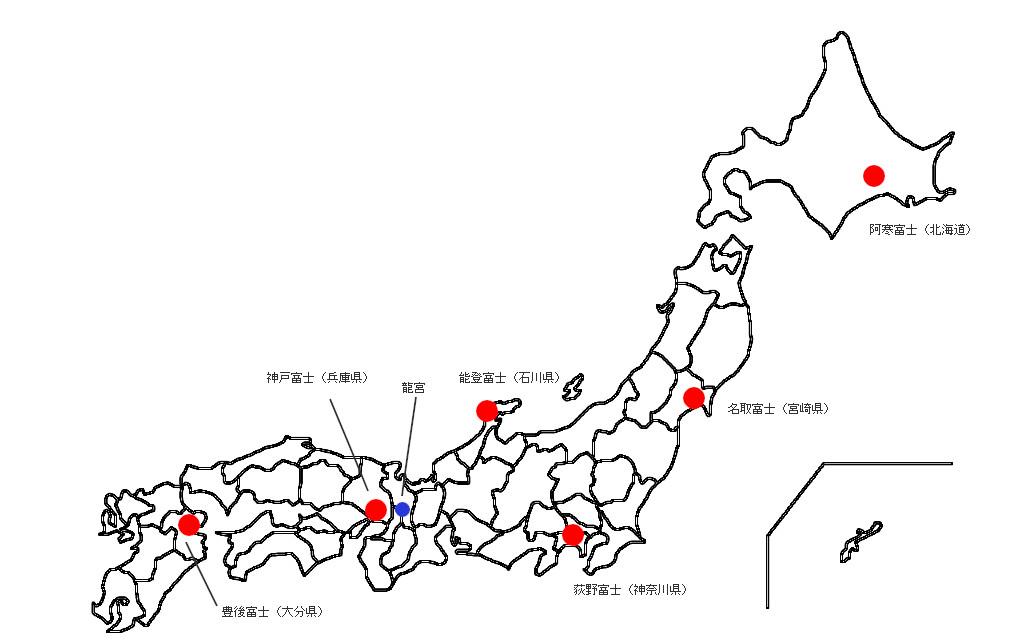 7つの富士